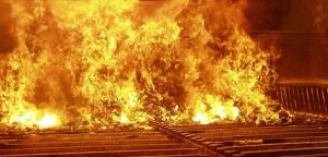 Refractories for incinerators